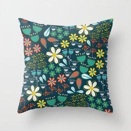 Cute floral variety Throw Pillow