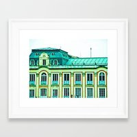 political Framed Art Prints featuring Political building. by Alejandra Triana Muñoz (Alejandra Sweet