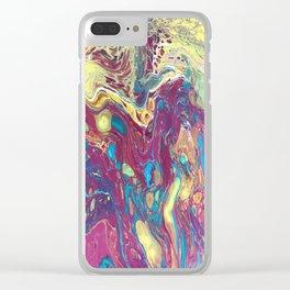 Transhumanism III Clear iPhone Case