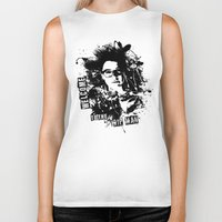 orphan black Biker Tanks featuring Orphan Black - Welcome to the Trip by Annabelle Pickering