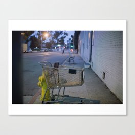 Occupied Canvas Print