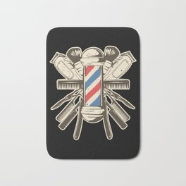 Barber Accessories | Beard Hairdresser Bath Mat