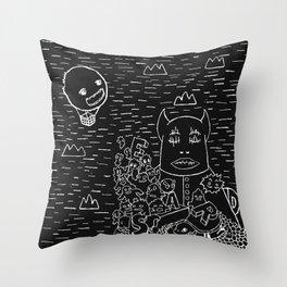 Armada Throw Pillow