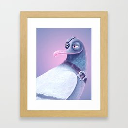 Pirate Joe Albatross Framed Art Print