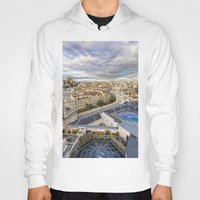 real madrid Hoodies featuring Madrid by Solar Designs