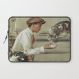 Be Kind To Animals 1 Laptop Sleeve