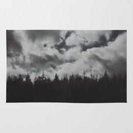 Dark forest. Rug