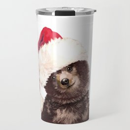 Christmas Baby Bear Travel Mug