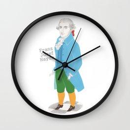 Franz Josef Haydn Wall Clock