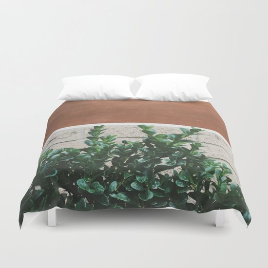 Plant + Copper #society6 #buyart #decor Duvet Cover