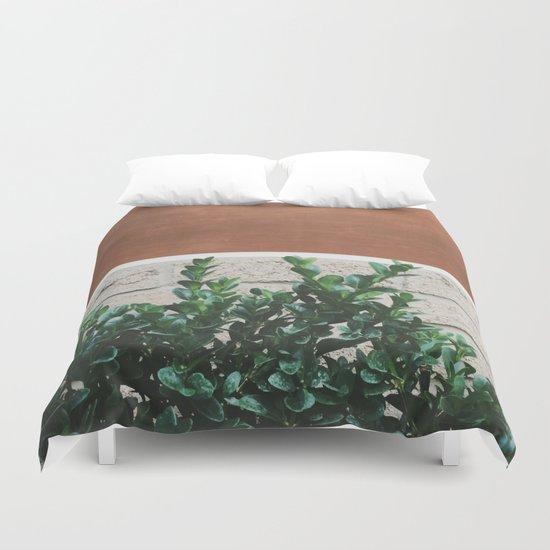 Plant + Copper #society6 #buyart #decor Duvet Cover