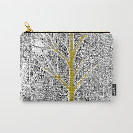 Let it snow! Tree in a beautiful winter snowy day Carry-All Pouch