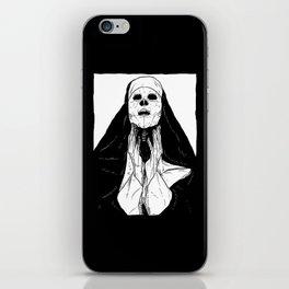 nun of death iPhone Skin