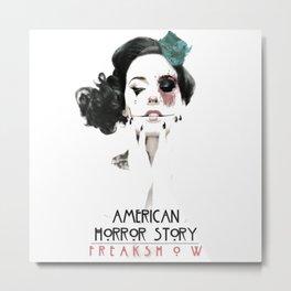 american horror Metal Print