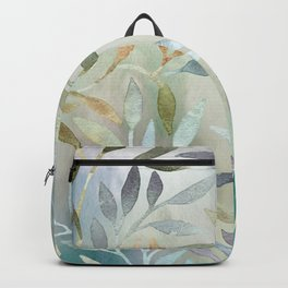 Painted Leaves Backpack