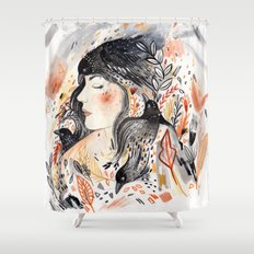 Crows & I Shower Curtain