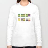 ninja turtles Long Sleeve T-shirts featuring Minimalist Ninja Turtles by Rob Lafratta