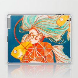 Fire Ring in Pisces Laptop & iPad Skin