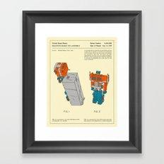RECONFIGURABLE TOY Framed Art Print