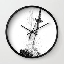 Bonefire Lit Wall Clock