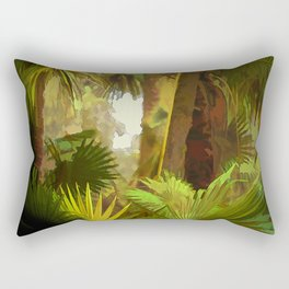 Obscured Rectangular Pillow