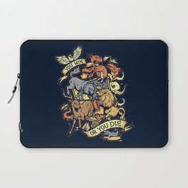 Win or Die Laptop Sleeve