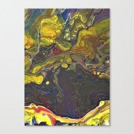 Fluid Art 4 Canvas Print