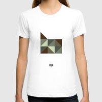 oregon T-shirts featuring Geometric Oregon by INDUR