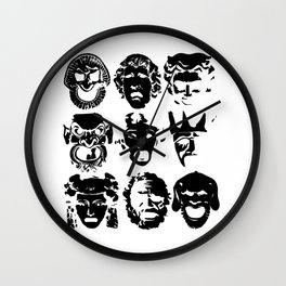Tragedy Wall Clock