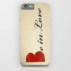 BE IN LOVE Slim Case iPhone 6s