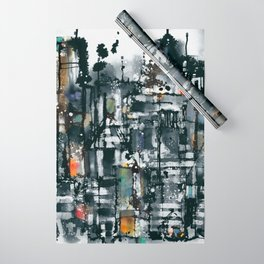 City Night 2 Wrapping Paper