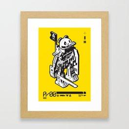 A:06 Framed Art Print