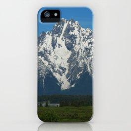 Beautiful Grand Teton NP iPhone Case