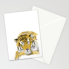 Sleepy Tiger Stationery Cards