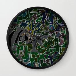 Farewell, Zebra Lords Wall Clock