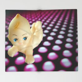 Kewpie_doll Throw Blanket
