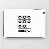 rebel iPad Cases featuring Rebel by JuakiR