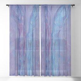 Half Moon Yoga Sheer Curtain