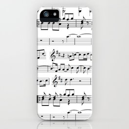 Musical iPhone Case