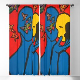 SKIN DEEP  (ORIGINAL SOLD)  #Society6  #decor  #buyart Blackout Curtain
