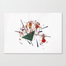 El Ataque (III) Canvas Print