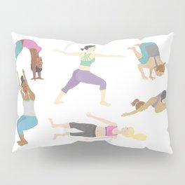 Yoga People Pillow Sham