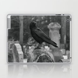Crow In Shades Of Stone Laptop & iPad Skin