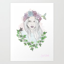 The Beauty in Nature  Art Print