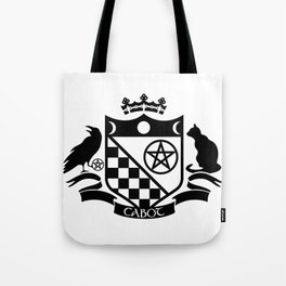 Cabot Crest Hermetic Black/White Tote Bag