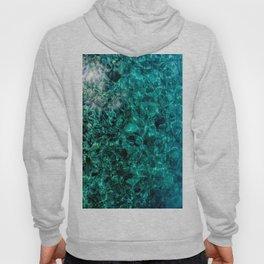 turquoise depth Hoody