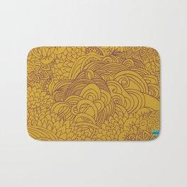 yellow seeds Bath Mat