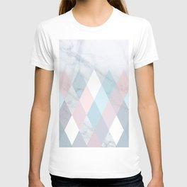 Diamond Peaks on Marble T-shirt