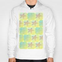 starfish Hoodies featuring Starfish by Gaspar Avila