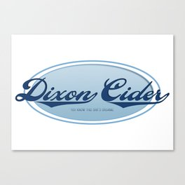 Dixon Cider [Smosh] Canvas Print
